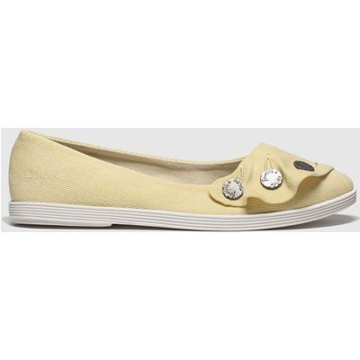Blowfish Malibu Yellow Gogogo Flat Shoes