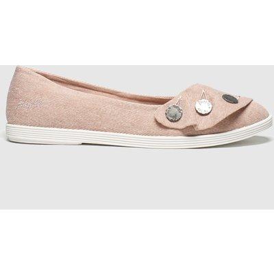 Blowfish Malibu Pale Pink Gogogo Flat Shoes