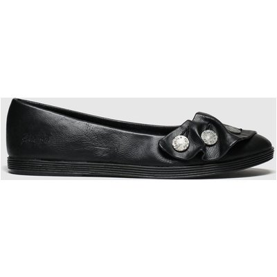 Blowfish Malibu Black Gogogo Vegan Flat Shoes