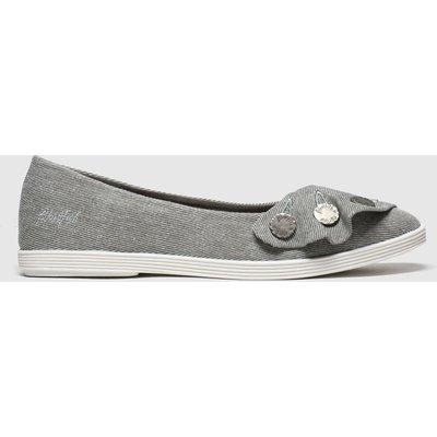 Blowfish Malibu Grey Gogogo Flat Shoes