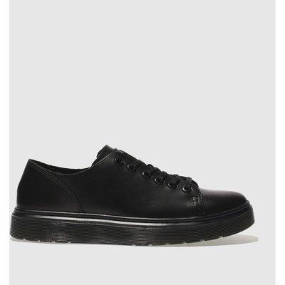Dr Martens Black Dante 6 Eye Shoe Flat Shoes