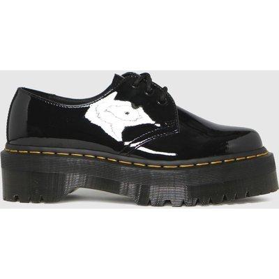 Dr Martens Black 1461 Quad Flat Shoes