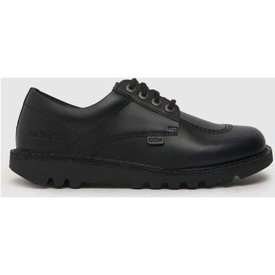 Kickers Black Kick Lo Mono Flat Shoes