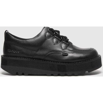 Kickers Black Lo Creepy Flat Shoes
