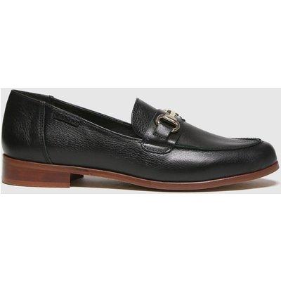 Red Or Dead Black River Leather Smart Loafer Flat Shoes