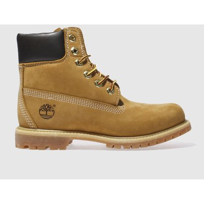 Timberland Natural 6 Inch Premium Boots