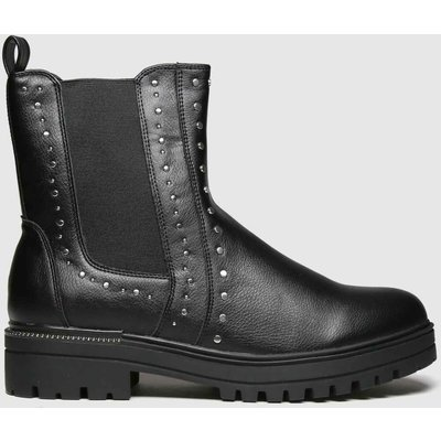 Schuh Black Austin Studded Chelsea Boots