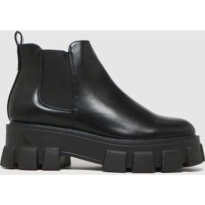 Schuh Black Anna Extreme Cleat Sole Boots