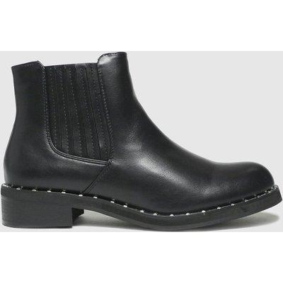 Schuh Black Cliantha Stud Rand Chelsea Boots