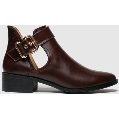 Schuh Brown Hang Around Boots