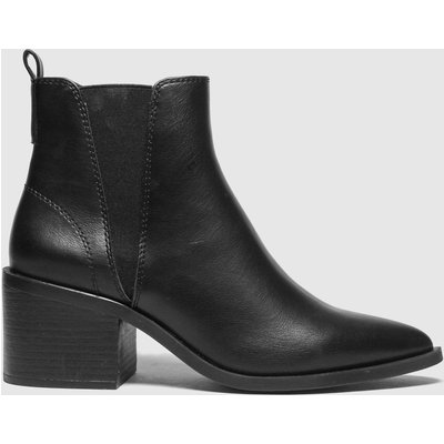 Schuh Black Charlotte Point Chelsea Boots