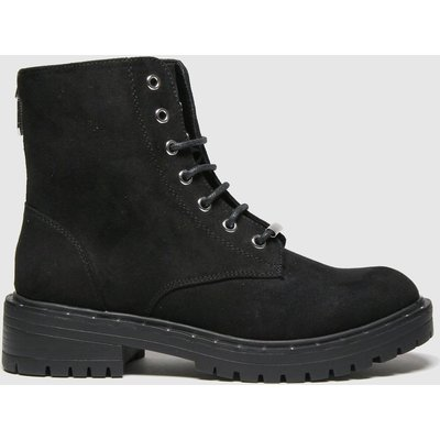 Schuh Black Amelia Lace Up Boot Boots