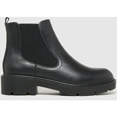 Schuh Black Ailsa Chunky Chelsea Boots