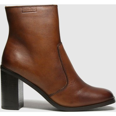 Red Or Dead Tan Reece Leather Square Toe Boots