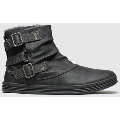 Blowfish Malibu Grey Francesca Shearling Boots