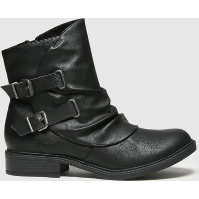 Blowfish Malibu Black Violat Vegan Boots