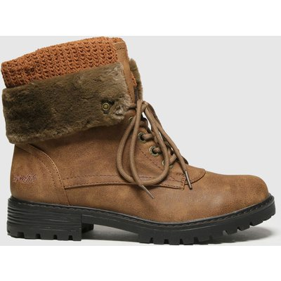 Blowfish Malibu Brown Ralee Vegan Boots