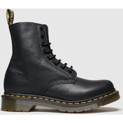 Dr Martens Black Pascal 8 Eye Boots