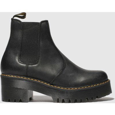 Dr Martens Black Rometty Boots