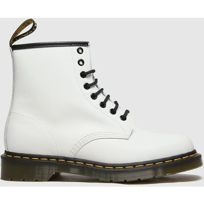 Dr Martens White 1460 8 Eye Boots