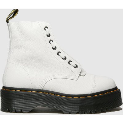 Dr Martens White Sinclair Boots