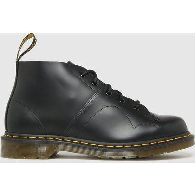 Dr Martens Black Church Boots