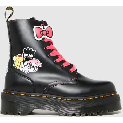 Dr Martens Black Jadon Hello Kitty Boots