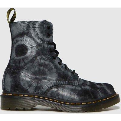 Dr Martens Black 1460 Pascal Tie Dye Boots