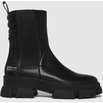 Steve Madden Black Transam Boots
