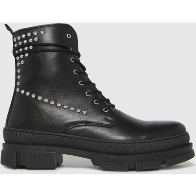 Steve Madden Black Tornados Boots