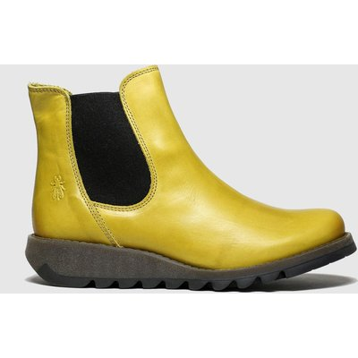 Fly London Yellow Salv Boots