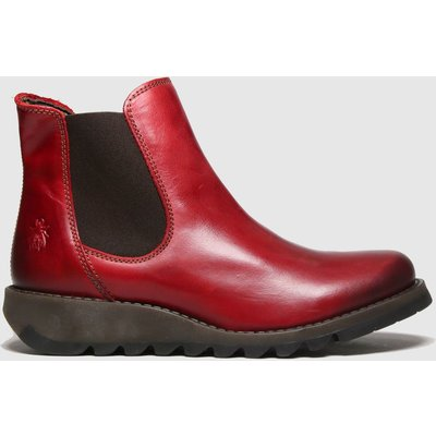 Fly London Red Salv Boots