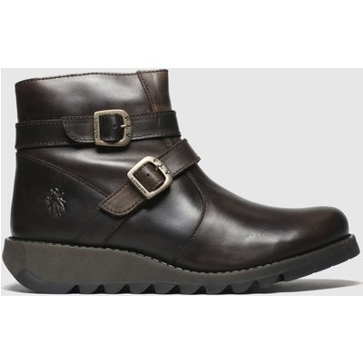 Fly London Brown Serz Boots