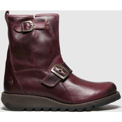 Fly London Purple Sino Boots
