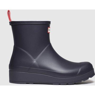 Hunter Navy Original Play Short Boots