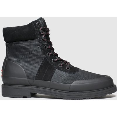 Hunter Black Original Commando Boots