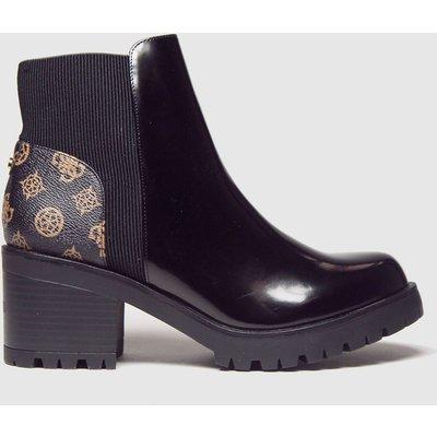 GUESS Black Bria Boots