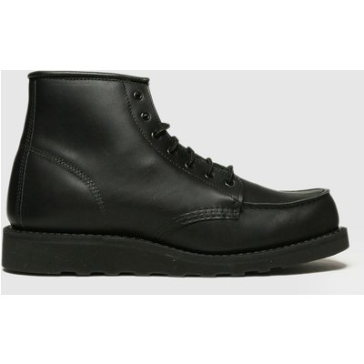 Red Wing Black 6-inch Classic Moc Boots