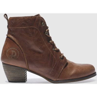 RED OR DEAD Tan Exam Boots