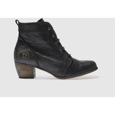 RED OR DEAD Black Exam Boots