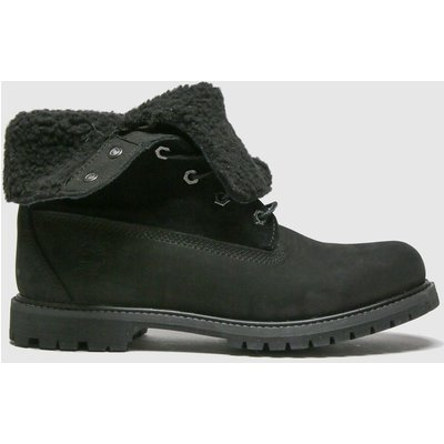 Timberland Black Authentic Teddy Fleece Boots
