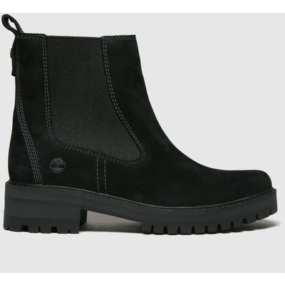 Timberland Black Courmayeur Valley Chelsea Boots
