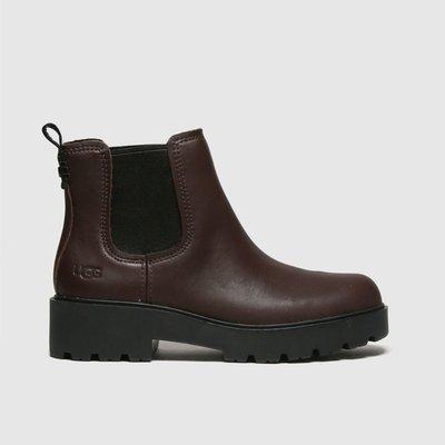UGG Burgundy Markstrum Boots