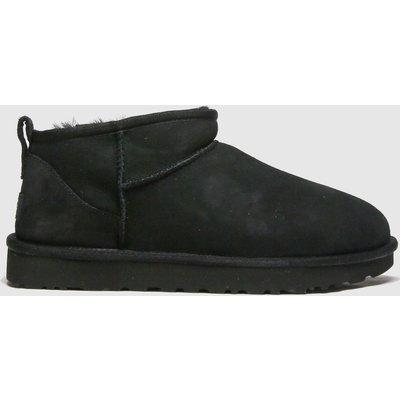 UGG Black Classic Ultra Mini Boots