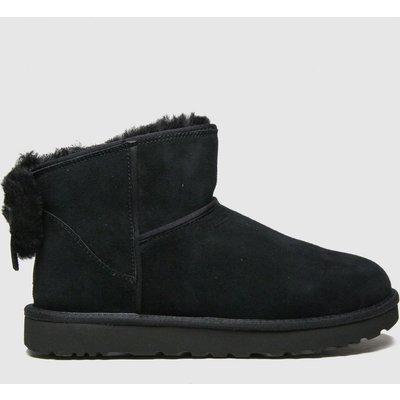 UGG Black Classic Mini Bow Ii Boots