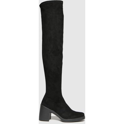 Schuh Black Dylan Stretch Over The Knee Boots