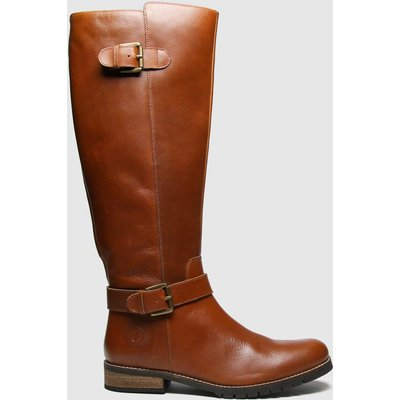 Red Or Dead Tan Radley Leather Hi Leg Boots