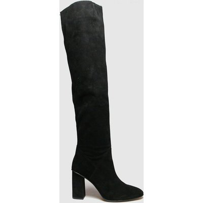Schuh Black Drake Suede Pull On Boots