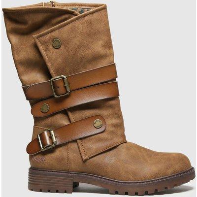 Blowfish Malibu Brown Raexy Vegan Boots