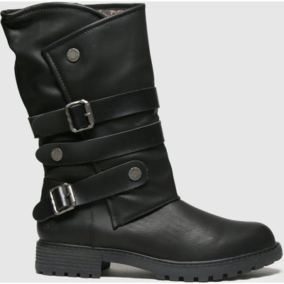Blowfish Malibu Black Raexy Vegan Boots